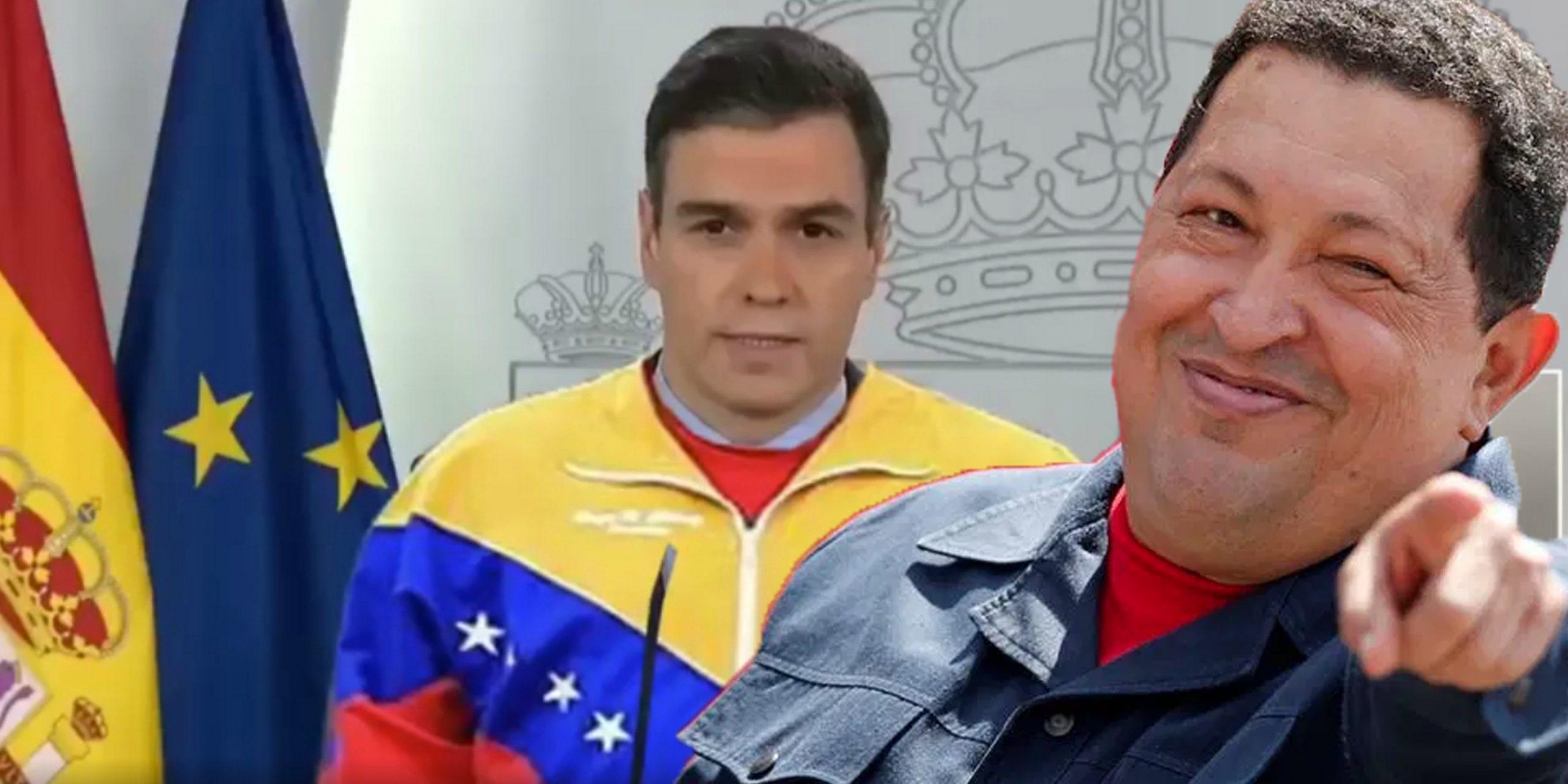 Sánchez copia a Chávez en su Ley de Seguridad Nacional: 'barra libre' expropiaciones sin control del Congreso