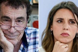 """Sánchez Dragó responde a la amenaza de Irene Montero: """"Me he acostado con muchas mujeres y ninguna me ha pedido que usara condón"""""""
