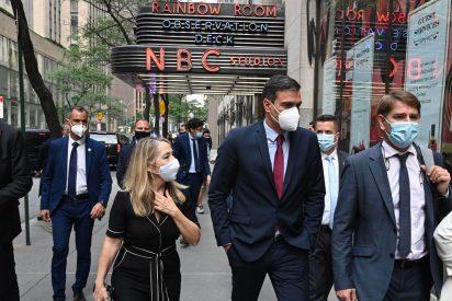 Un troleo como un rascacielos: las redes se mofan de Sánchez tras ser ignorado por el alcalde de Nueva York