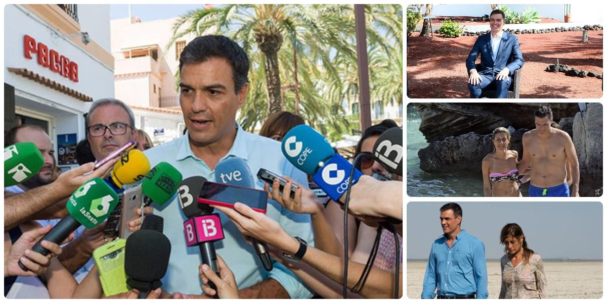 Las opacas vacaciones de Pedro Sánchez: Moncloa rehúsa informar sobre los lugares de asueto del presidente