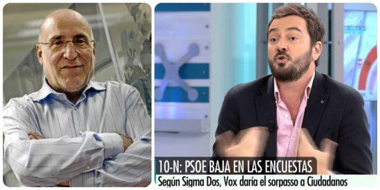 """Ramón Trecet pierde el oremus e insulta a Jorge Bustos por su columna sobre Simone Biles: """"Es un nazi"""""""