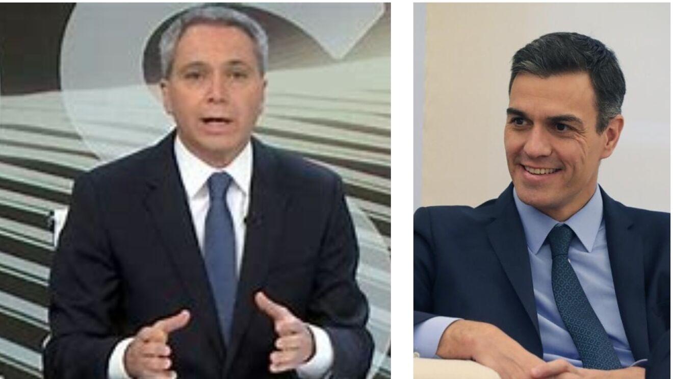 La 'amenaza' de Sánchez a Vallés fracasa: inesperado palo histórico televisivo para Moncloa