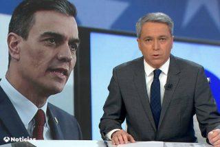 Vicente Vallés arrasa en televisión por hablar claro y sin miedo de los desmanes del Gobierno