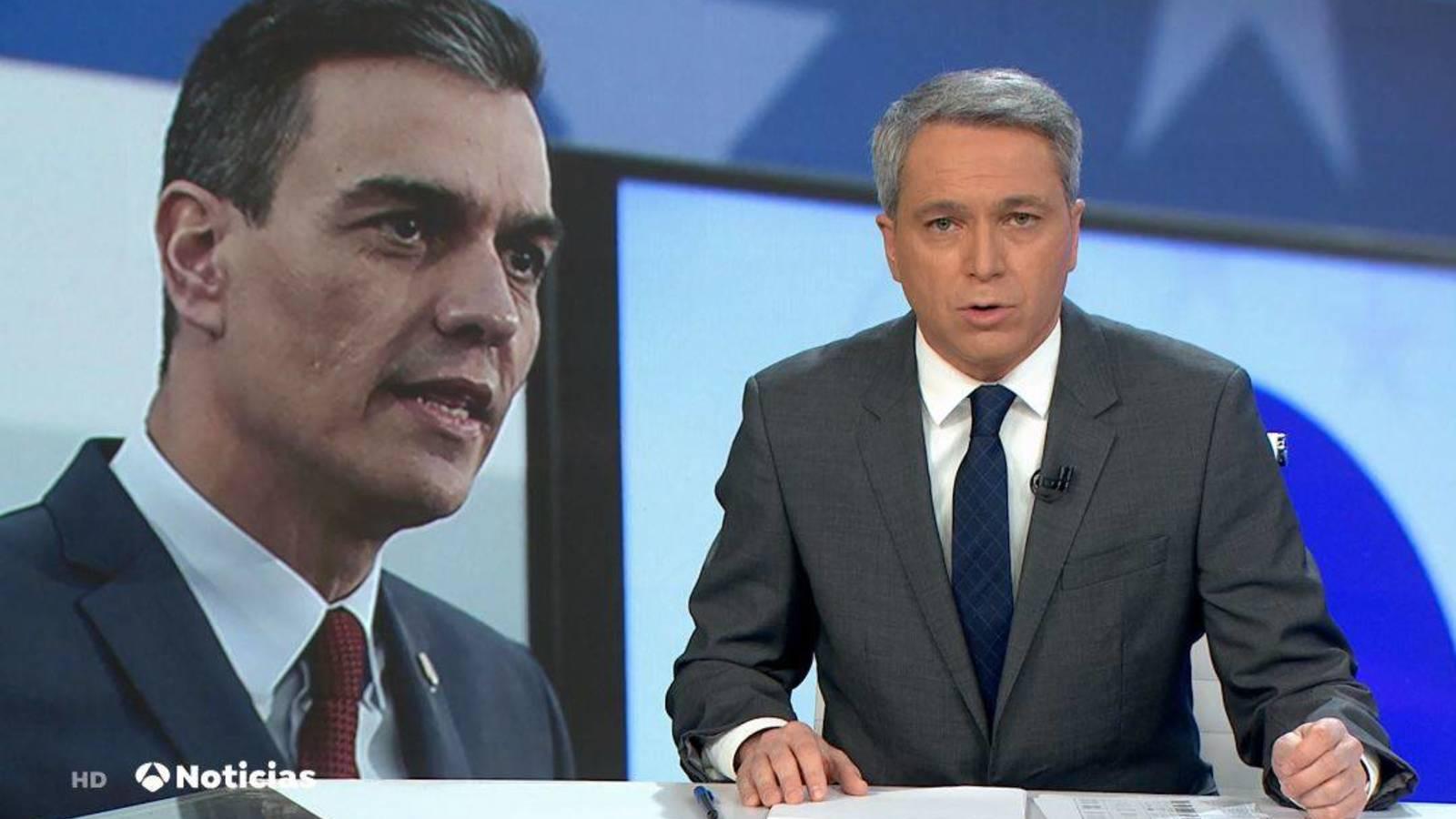 Sánchez estrena sus nuevos ministros con una sucia jugada para 'cargarse' a Vicente Vallés