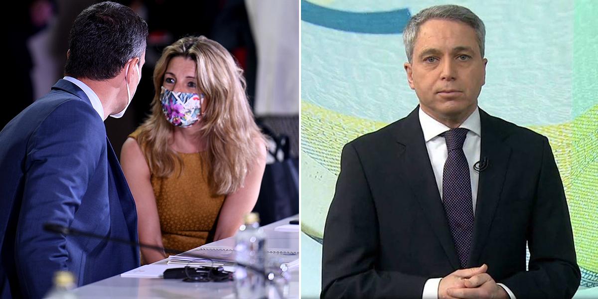 Vicente Vallés se recrea en la nueva colisión en el Gobierno: Yolanda Díaz desautoriza a Pedro Sánchez