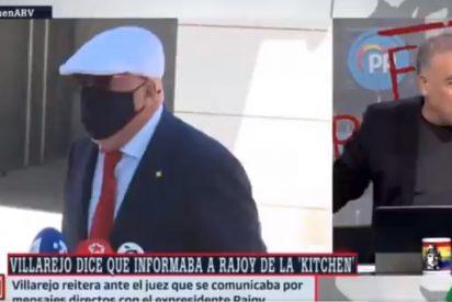 """Villarejo le chafa el directo a laSexta: """"Dígale a Ferreras que me debe una comida"""""""