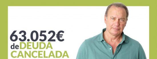 Repara tu Deuda Abogados cancela 63.052€ en Madrid gracias a la Ley de Segunda Oportunidad