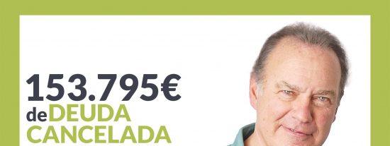 Repara tu Deuda Abogados cancela 153.795€ en Valencia con la Ley de Segunda Oportunidad