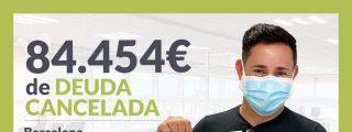 Repara tu Deuda Abogados cancela 84.454€ en Barcelona (Cataluña) con la Ley de Segunda Oportunidad