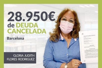 Repara tu Deuda Abogados cancela 28.950 € en Barcelona (Catalunya) con la Ley de Segunda Oportunidad