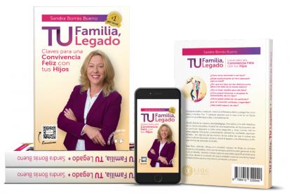 """""""Tu Familia, Tu Legado"""" de Sandra Borrás Bueno alcanza la categoría de Best Seller en Amazon"""