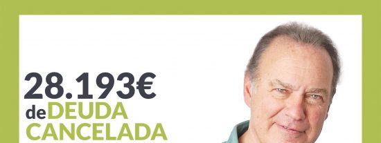 Repara tu Deuda Abogados cancela 28.193 € en Madrid con la Ley de Segunda Oportunidad