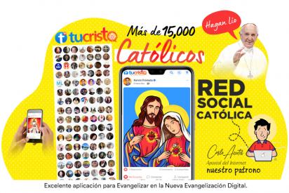 TuCristo.com: La Nueva Red Social Católica con más de 15.000 miembros