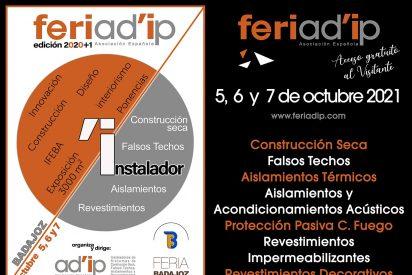 FERIAD'IP: Aislamientos, Revestimientos y Decoración en el mayor punto de encuentro de 2021