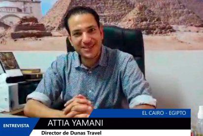 """Attia Yamani: """"Es un buen momento para visitar Egipto"""""""