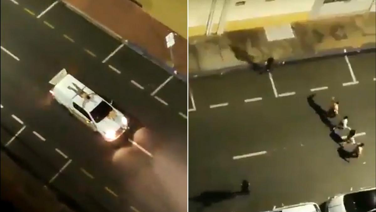 Una banda de ladrones toma una ciudad entera de Brasil y saquea todos sus bancos