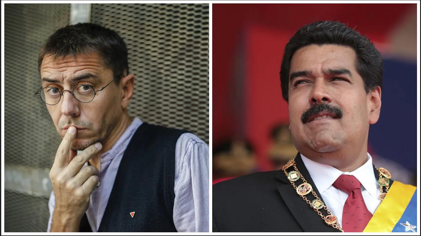 Monedero vuelve a las andadas: regresa a Venezuela a ver qué pilla y se inventa un 'golpe de Estado' contra Sánchez