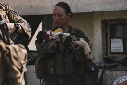 La conmovedora última foto publicada por la sargento Nicole Gee, víctima estadounidense del atentado en Kabul