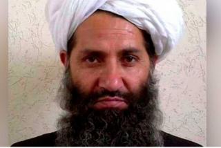 """El líder supremo de los talibanes """"aparecerá pronto en público"""" tras la salida de las tropas de EEUU"""