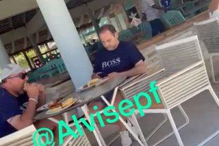 """Ábalos, cazado en Punta Cana: """"No me olvido de ti, exministro, todavía tienes el dinero"""""""
