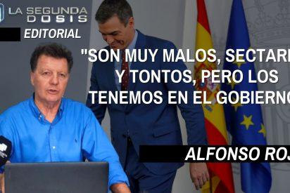 """Alfonso Rojo: """"Son muy malos, sectarios y tontos, pero los tenemos en el Gobierno"""""""