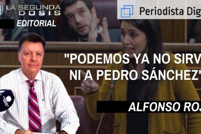 """Alfonso Rojo: """"Podemos ya no sirve ni de parapeto al socialista Sánchez"""""""