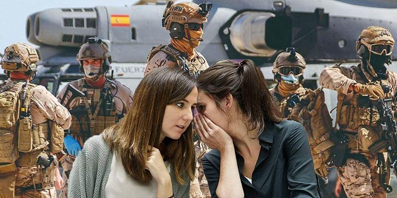 """La ofensa de Podemos al Ejército de la heroica evacuación de Afganistán: """"Son reaccionarios"""""""