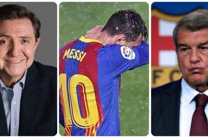 """Losantos: """"Echo en falta que responsabilicen a Ayuso de la bancarrota que supone la marcha de Messi del Barcelona"""""""