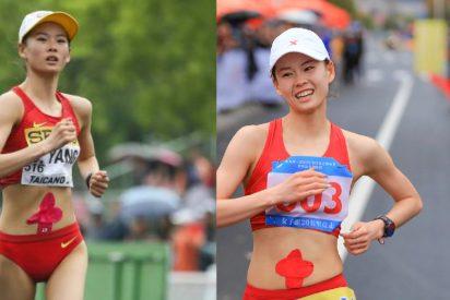 A que no adivinas porque las atletas chinas se tapan el ombligo en los JJOO de Tokio