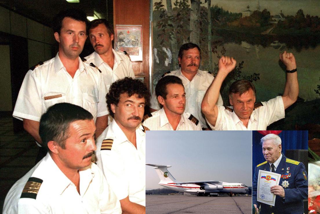 Un piloto ruso relata cómo fue su rocambolesca fuga con un avión Il-76 capturado por los talibanes en 1995