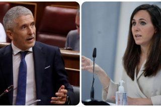 El Gobierno socialcomunista es un carajal: Belarra se encara con Marlaska por la devolución de menores a Marruecos
