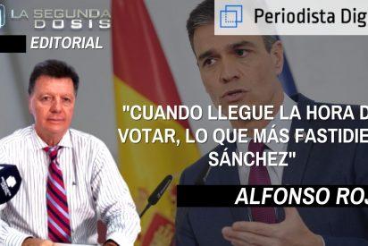 """Alfonso Rojo: """"Cuando llegue la hora de votar, lo que más fastidie a Sánchez"""""""
