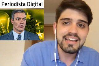 """Hugo Pereira: """"La desvergüenza del Gobierno Sánchez es tan grande como la factura de la luz"""""""