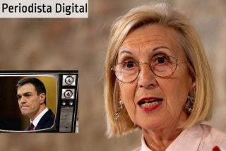 """Rosa Díez: """"La mayoría de los periodistas están a lo que dice la voz de su amo...Pedro Sánchez"""""""