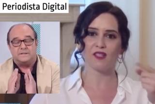 El zasca de Isabel Díaz Ayuso al progre Maraña, que dejó ojiplático al periodista