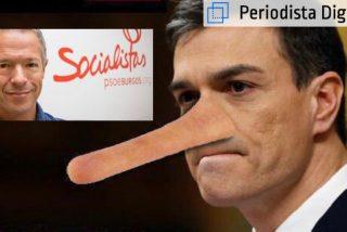 Pinocho Sánchez (PSOE) y el tío Gilito, alias Ander Gil