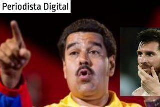 """Nicolás Maduro: """"Cuando vi a Messi llorando, lloré"""""""