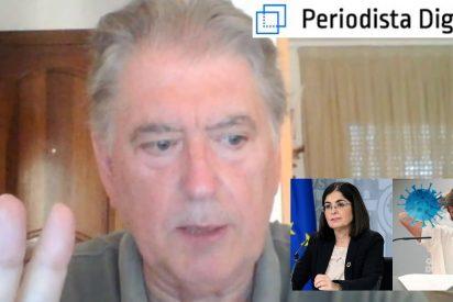 """Xavier Horcajo: """"Sánchez, Simón, Darias y estos mangantes, no dicen una verdad ni a tiros"""""""