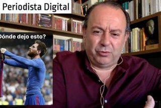 """Eurico Campano: """"El Barça es instrumental en el independentismo y a Messi esas cosas se la rascan"""""""