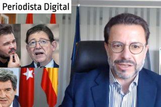 """Fernández-Lasquetty: """"No les vamos a permitir poner un impuesto a los madrileños y les ganaremos otra vez"""""""
