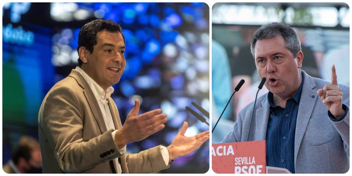 Encuesta: El PP neutraliza el 'efecto Espadas' (PSOE) y junto a VOX refuerza su mayoría absoluta en Andalucía