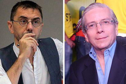 """Monedero, en pánico por la llegada del embajador que desveló el pago de 1,2 millones a Podemos: """"No es bienvenido en España"""""""