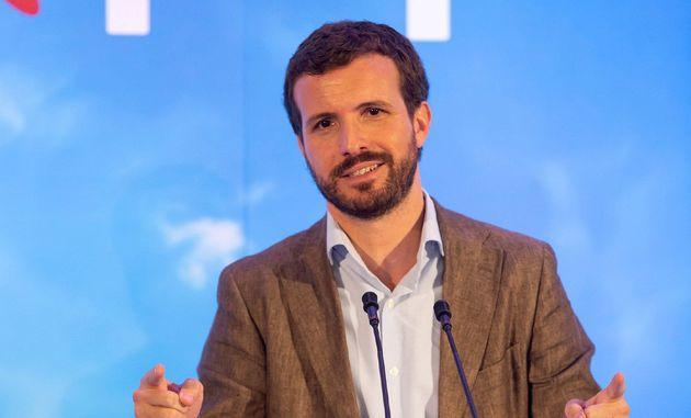 """Pablo Casado electrocuta con guasa a los nacionalizadores de PSOE-Podemos: """"¡Exprópiese!"""""""