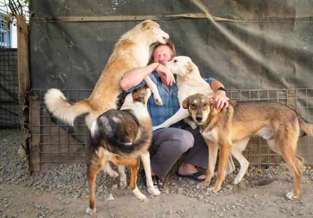 El trabajador 'humanitario' que evacuó de Afganistán a 150 perros y gatos pero dejó atrás a los trabajadores locales de su ONG