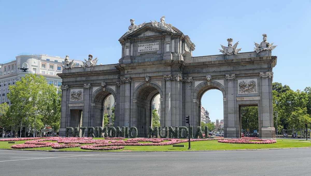 Madrid: El Ayuntamiento homenajea el Paisaje de la Luz en la Puerta de Alcalá