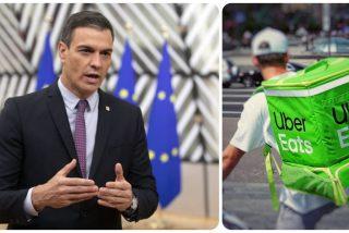 El Gobierno Sánchez derrapa con la 'ley Rider': arruina y manda al paro a miles de repartidores