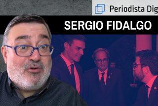 """Sergio Fidalgo: """"Hace falte que cambie el Gobierno de España, porque el separatismo esta contagiando a Baleares y Valencia"""""""