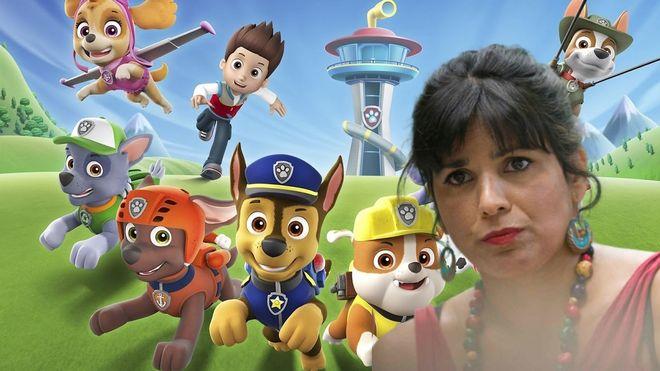Magistral troleo de Twitter a Teresa Rodríguez por tildar de machista a 'La Patrulla Canina'