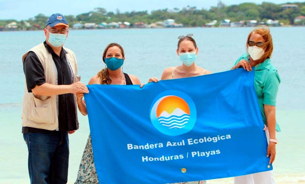 Honduras: Utila es galardonada con el premio Bandera Azul Ecológica