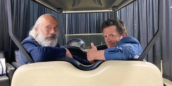 Los actores de 'Volver al futuro' se reencuentran cara a cara 36 años después del estreno de la saga